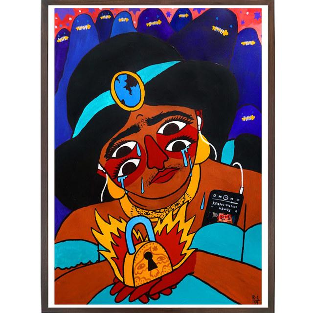 Ricardo Cavolo, 'Jasmine', 2019, StolenSpace Gallery
