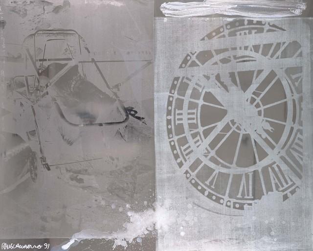 Robert Rauschenberg, 'Time Scan (Phantom)', 1991, Acrylic on mirrored aluminum, Robert Rauschenberg Foundation