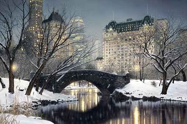 Rod Chase, 'Twilight in Central Park', 2017, David Parker Gallery