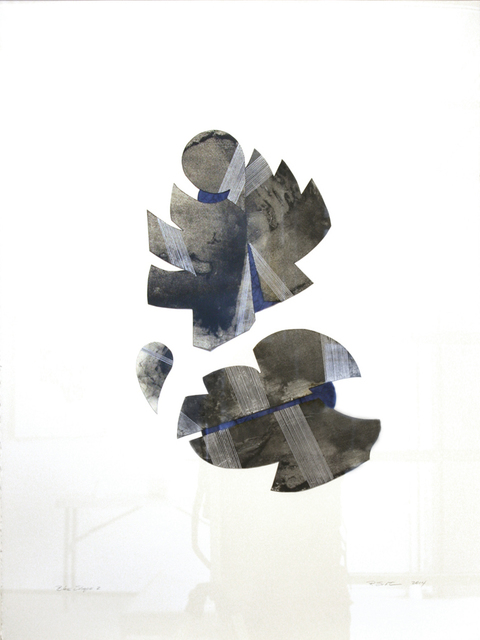 , 'Blue Shape 2,' 2014, TAI Modern