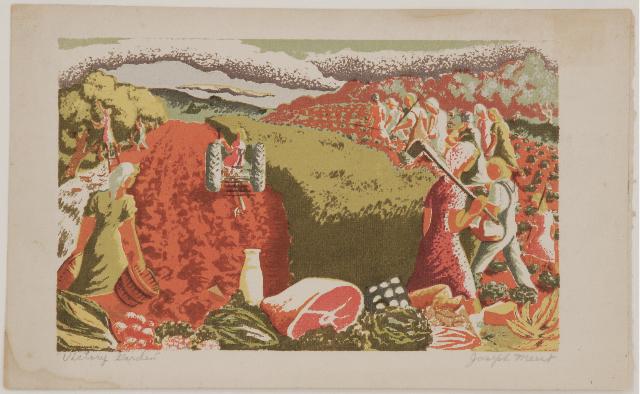 , 'Victory Garden,' ca. 1940, Sragow Gallery