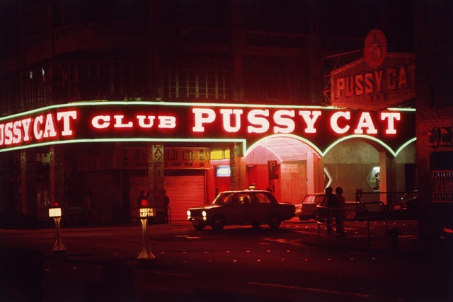 , 'Pussy Cat Club, Wan Chai,' 1974, Blue Lotus Gallery