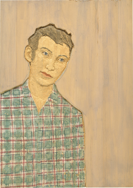 Stephan Balkenhol, 'Male Portrait', 2003, Phillips