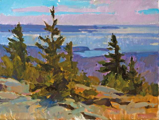 , 'Mountaintop Pines,' , Dowling Walsh