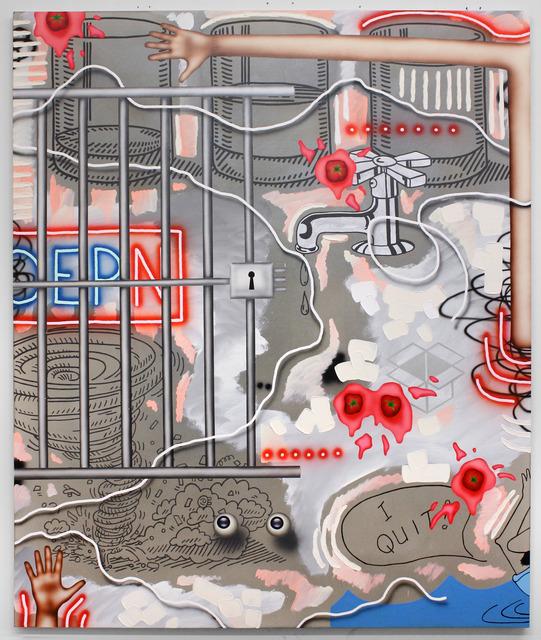 , 'OEPN,' 2017, Celaya Brothers Gallery