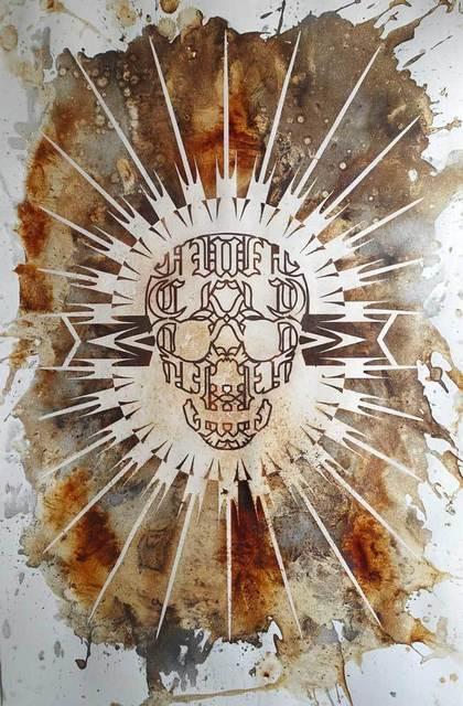 , 'The World Made Flesh (Fuckface) 83,' 2013, ADN Galeria (Barcelona)