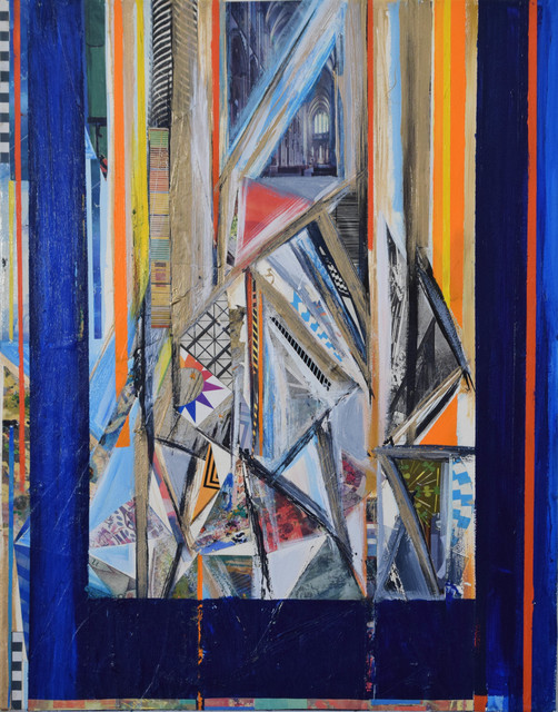 , 'Blue Window,' 2015, Fountain House Gallery