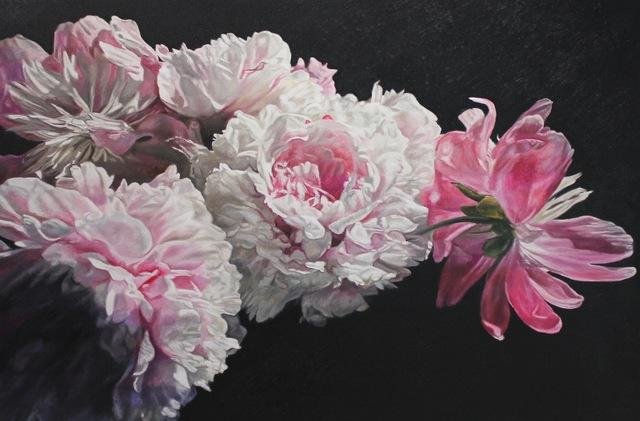 , 'Garden Peonies,' 2019, The Front Gallery