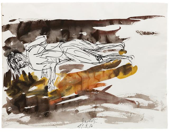 Georg Baselitz, 'Untitled 11.X.06', 2006, Jahn und Jahn
