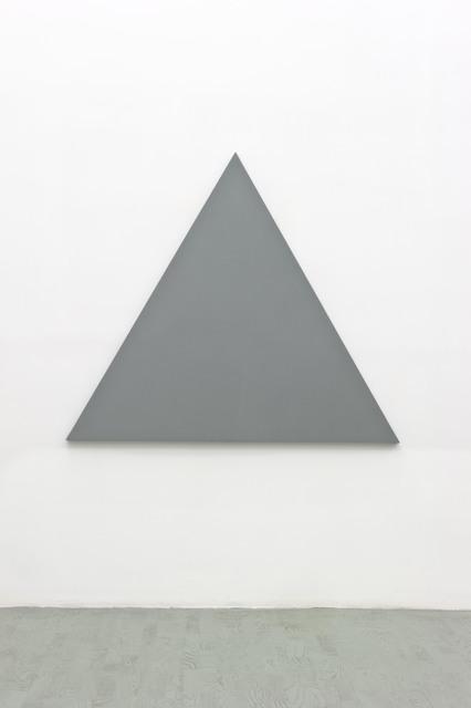 , 'Triangle painting,' 2012, Alfonso Artiaco