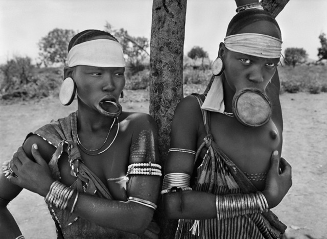 , 'Mursi village of Dargui in Mago National Park, near Jinka. Ethiophia.,' 2007, Sundaram Tagore Gallery