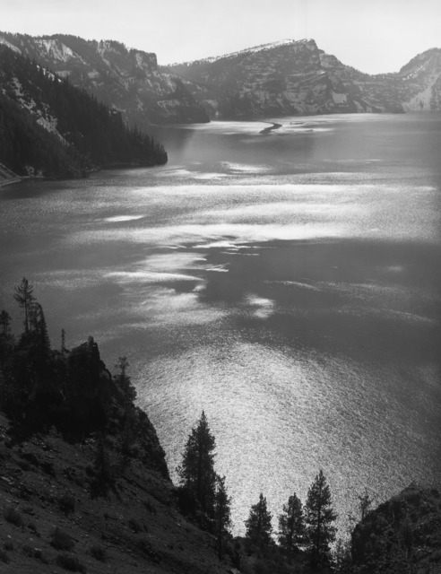 Ansel Adams, 'Afternoon Sun, Crater Lake National Park, Oregon', 1943, The Ansel Adams Gallery