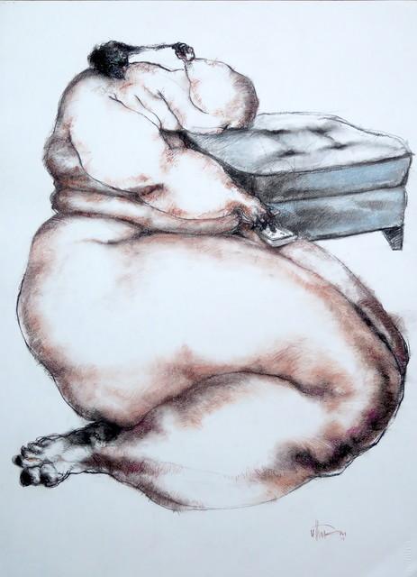 , 'Nude (cigarette),' 2017, Sapar Contemporary