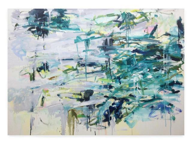, 'Dime Lake,' 2015, Leslie Feely