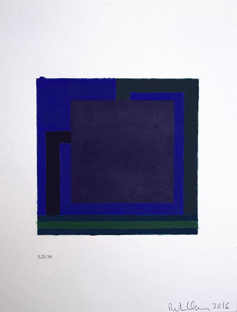 , 'Untitled (5.25.16),' 2016, Galeria Senda