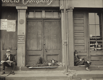 Walker Evans, 'South Street, New York,' 1932, Phillips: The Odyssey of Collecting