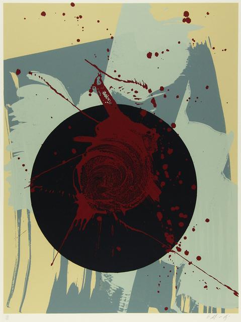 Kazuo Shiraga, 'Black Circle', 1993, Der-Horng Art Gallery