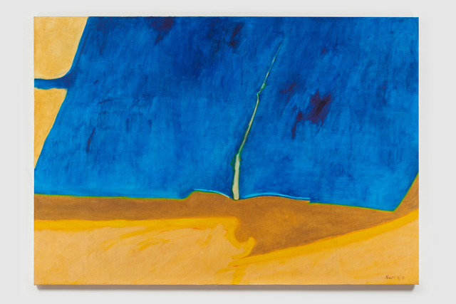 , 'Untitled I (Blue Yellow Brown),' 1978, Susan Eley Fine Art