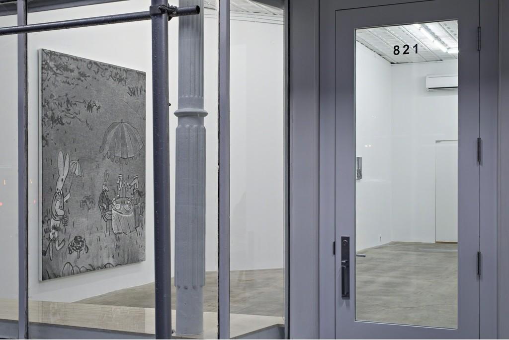 """Rudolf Stingel: Part VII,"" Installation view. © Rudolf Stingel. Courtesy of the artist."