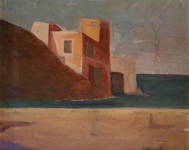 Pompeo Borra, 'Capri', 1940, Painting, Oil on panel, Finarte