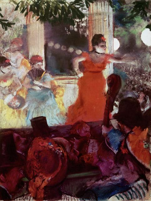 Edgar Degas, 'Café Concert aux Ambassadeurs', 1876-1877, Erich Lessing Culture and Fine Arts Archive
