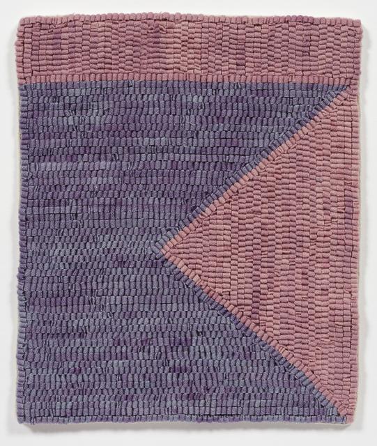 , 'Violet/Rose Ground,' 2018, Steve Turner
