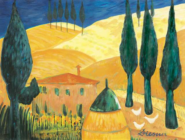 , 'House in Tuscany,' ca. 1975, Galerie Bei Der Albertina Zetter