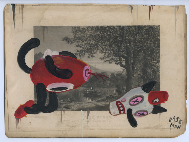 Gary Baseman, 'The Ferry', 2017, Jonathan LeVine Projects