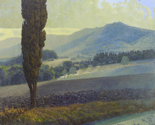 , 'Cypress Trees in Le Marche,' 2017, John Martin Gallery