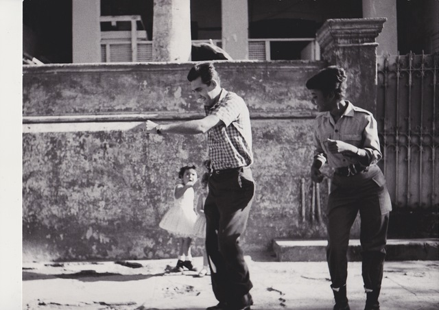 , 'Cha-Cha-Cha  danced by members of the I.C.A.I.C among which Sarita Gomez wearing military clothes - Sarita Gomez and other film students dancing Cha-Cha-Cha (Cuba series),' 1962-1963, Galerie Nathalie Obadia