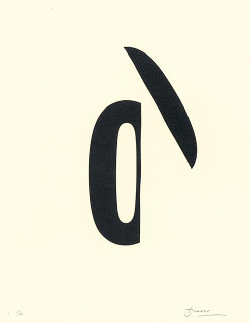 , 'Poema visual 19,' 1989, Polígrafa Obra Gráfica