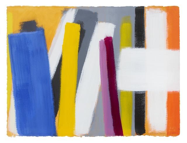Wilhelmina Barns-Graham, 'Untitled (July)', 2000, Painting, Acrylic on paper, Waterhouse & Dodd