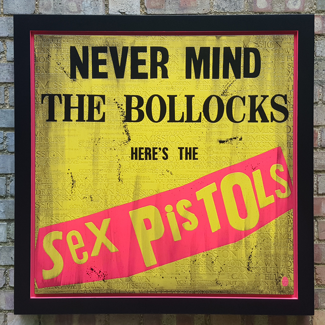 , 'Never Mind the Bollocks,' 2018, Reem Gallery