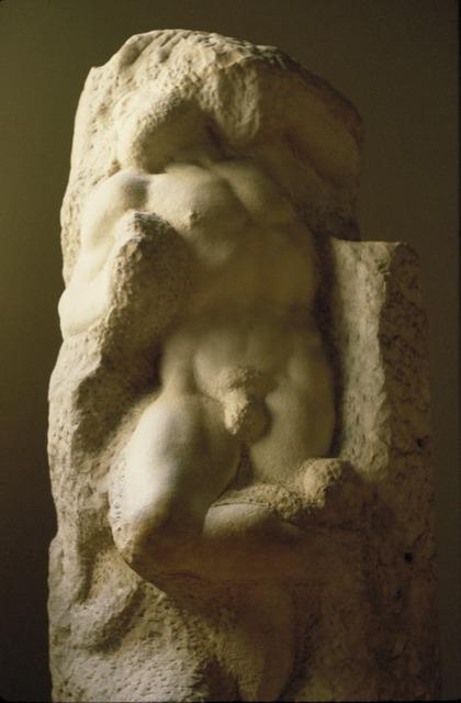 Michelangelo Buonarroti, 'Awakening Captive', ca. 1516-19, Allan Kohl