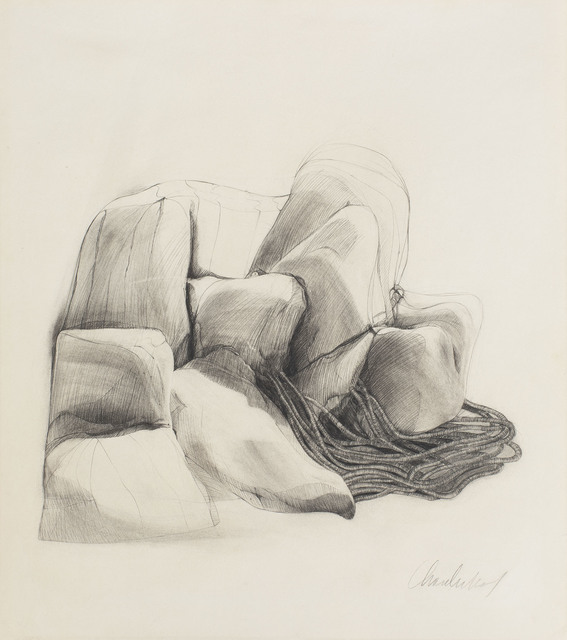 , 'Landscape and Cords,' ca. 1973, Michael Rosenfeld Gallery