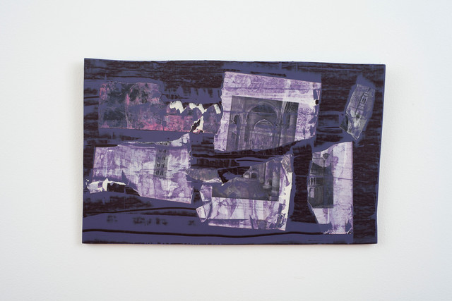 , 'Purple church and iceberg,' 2013, Alejandra von Hartz
