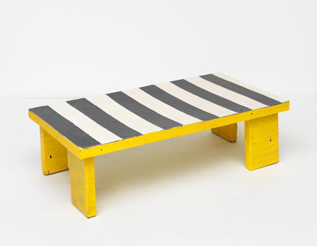 , 'humbug table,' 2016, Maccarone