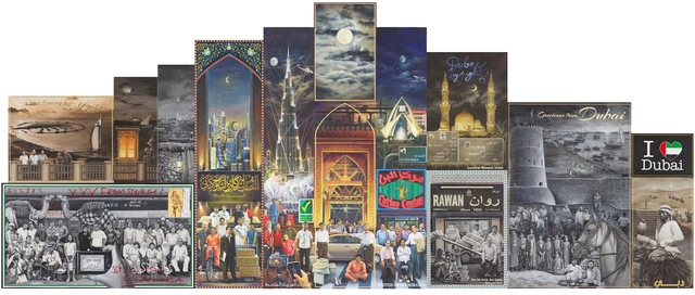 , 'Postcards from Dubai (Night),' 2014, Yavuz Gallery