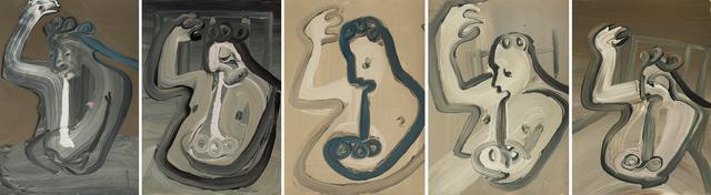 , 'RUMINATION AFTER Gertrude-Quastler (Rokni Haerizadeh),' 2018, Galerie Krinzinger