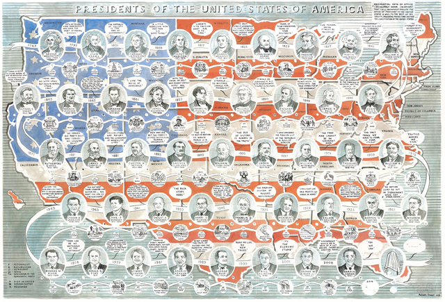 , 'Presidents of the USA,' 2015, TAG Fine Arts