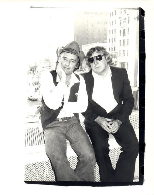 Andy Warhol, 'Dennis Hopper and Gerry Rothenberg', BlackBook Presents