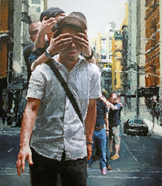 , 'Blind Walking,' 2012, Ode to Art