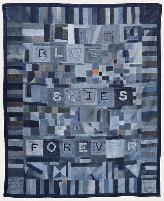 , 'BLUE SKIES FOREVER,' 2017, Greg Kucera Gallery