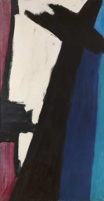 , 'Black Cross,' 1959, Berry Campbell Gallery