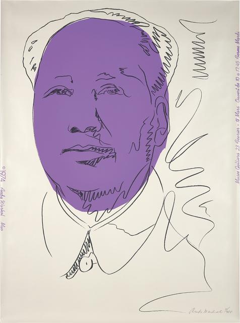 Andy Warhol, 'Mao (wallpaper)', 1974, Phillips