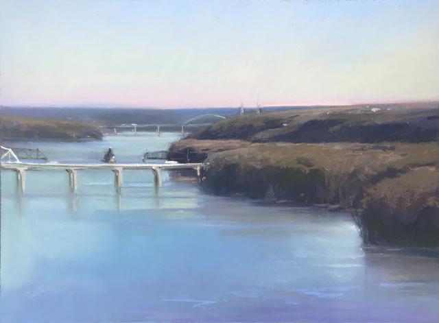 , 'Dubuque Early AM,' 2018, Olson Larsen Gallery