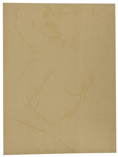 Andy Warhol, 'Love (Gold) (See F. & S. II.310-12)', 1983, Print, Screenprint in colors on paper, presumably unique in this color combination, Christie's Warhol Sale