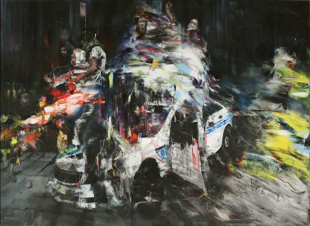 Li Tianbing, 'Occupation on the Car', 2018, JD Malat Gallery