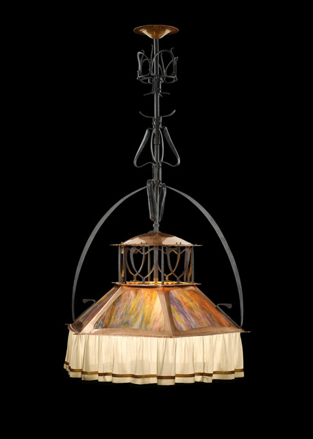 , 'Hanging lamp,' 1899, Yves Macaux