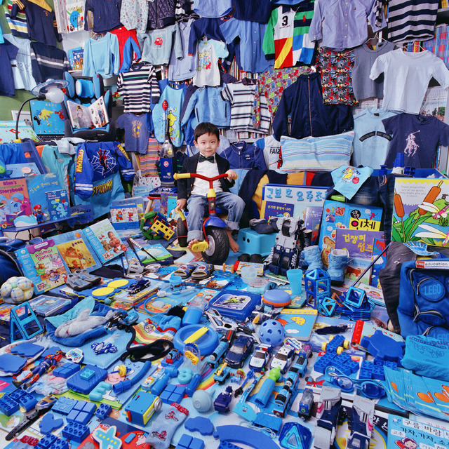 , 'Taehyung-Luke and His Blue Things,' 2011, Rosier Gallery